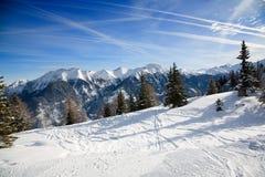 Estância de esqui Imagens de Stock