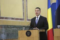 Estnischer Premierminister Juri Ratas Lizenzfreies Stockbild