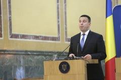 Estnischer Premierminister Juri Ratas Stockbilder