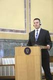 Estnischer Premierminister Juri Ratas Stockfotos