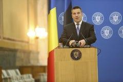 Estnischer Premierminister Juri Ratas Lizenzfreie Stockfotos
