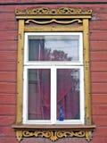 Estnisches Fenster lizenzfreies stockfoto