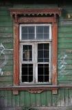 Estnisches Fenster stockbild