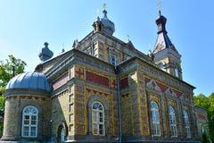 Estońska Apostolska Ortodoksalna Parnu transformacja Nasz władyka kościół zdjęcia royalty free