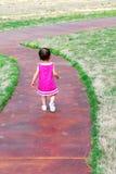 Esto es una caminata larga Imagen de archivo