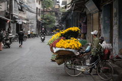 Esto es una Hanoi pacífica fotos de archivo libres de regalías