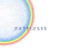Clip art de la felicidad Fotografía de archivo