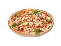 Esto es una pizza sabrosa Foto de archivo libre de regalías