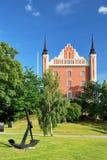 Estocolmo. Configuración de la isla Skeppsholmen Imágenes de archivo libres de regalías