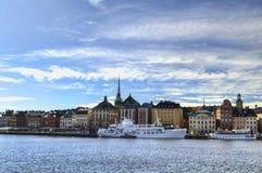 Estocolmo hermosa, Suecia Foto de archivo
