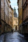 Estocolmo, Suecia, el caminar turístico Foto de archivo