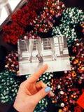 Estocolmo Tarjeta de Claes GOran Tienda del arte Foto de archivo libre de regalías