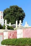 Estoi庭院宫殿,浪漫建筑学联合国工作  库存照片