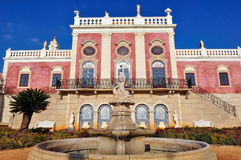 Estoi Palace in Estoi, Portugal Royalty Free Stock Images