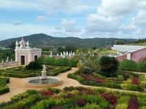 Estoi slott Portugal arkivbild