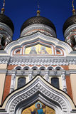 Estonia: Alexander Nevsky Cathedral Royalty Free Stock Photography