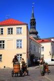 Estonia: Ciudad vieja de Tallinn Fotos de archivo