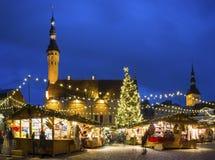 estonia för 2009 jul marknad bild tagna tallinn Arkivfoto