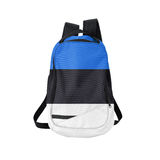Estonia flag backpack isolated on white Royalty Free Stock Photography