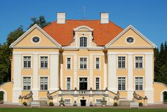 Estonia manor. In Palmse (18 century Royalty Free Stock Photography