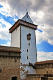 Estonia. Narva. Ancient fortress on border with Russia Royalty Free Stock Photos