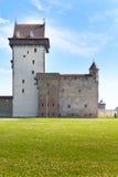Estonia. Narva. Ancient fortress.Landscape Royalty Free Stock Photography