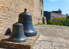 Estonia. Narva. Bells in fortress Royalty Free Stock Photography