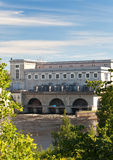 Estonia. Narva. Hydroelectric power station on the river Narva Royalty Free Stock Photography
