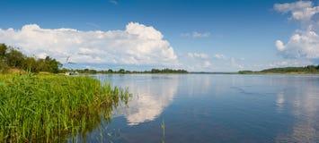estonia narvaflod Royaltyfri Bild