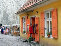Estonia, Old, House Royalty Free Stock Images