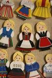 estonia person som tillhör en etnisk minoritetfigurines Arkivbilder