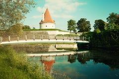 Estonia, Saaremaa, Kuressaare castle Stock Images