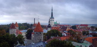 Estonia.Tallin Stock Photos