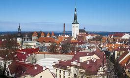 Estonia. Tallinn Royalty Free Stock Photos