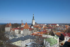 Estonia. Tallinn Royalty Free Stock Photo