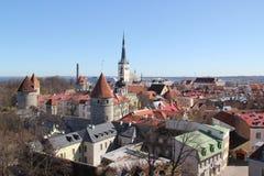 Estonia, Tallinn Fotos de archivo libres de regalías