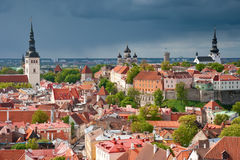 estonia Tallinn Fotografia Royalty Free