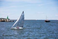 estonia tallinn Juli 15-18, 2017: Tallinn maritima dagar Arkivfoton