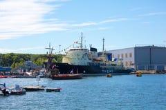 estonia tallinn Juli 15-18, 2017: Tallinn maritima dagar Royaltyfri Foto