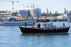 estonia tallinn Juli 15-18, 2017: Tallinn maritima dagar Royaltyfri Fotografi