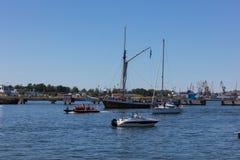 estonia tallinn Juli 15-18, 2017: Tallinn maritima dagar Arkivbild