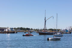 estonia tallinn Juli 15-18, 2017: Tallinn maritima dagar Arkivfoto