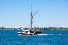 estonia tallinn Juli 15-18, 2017: Tallinn maritima dagar Royaltyfria Bilder