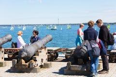 Estonia tallinn Lipiec 15-18, 2017: Tallinn Morscy dni Obrazy Stock