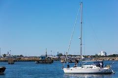 Estonia tallinn Lipiec 15-18, 2017: Tallinn Morscy dni Obraz Royalty Free