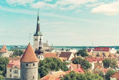 Estonia, Tallinn. Stock Photo