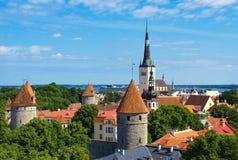 Estonia, Tallinn. Royalty Free Stock Photos
