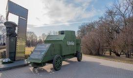 Estonia Tallinn Toompea, first armoured car stock images