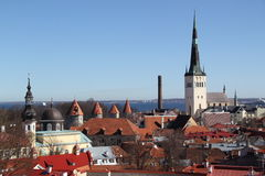 Estonia, Tallinn Royalty Free Stock Images