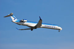 Estonian Air Canadair CL-600 Royalty Free Stock Photos